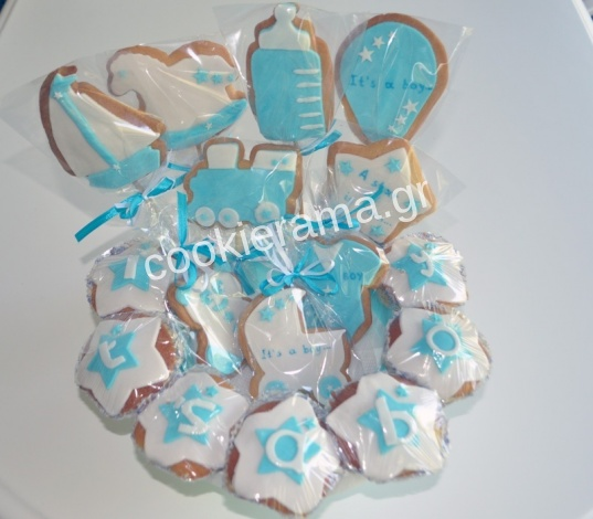 μπισκότα δώρο για νεογέννητο