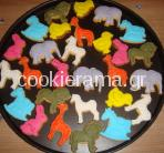 μπισκότα ζωάκια